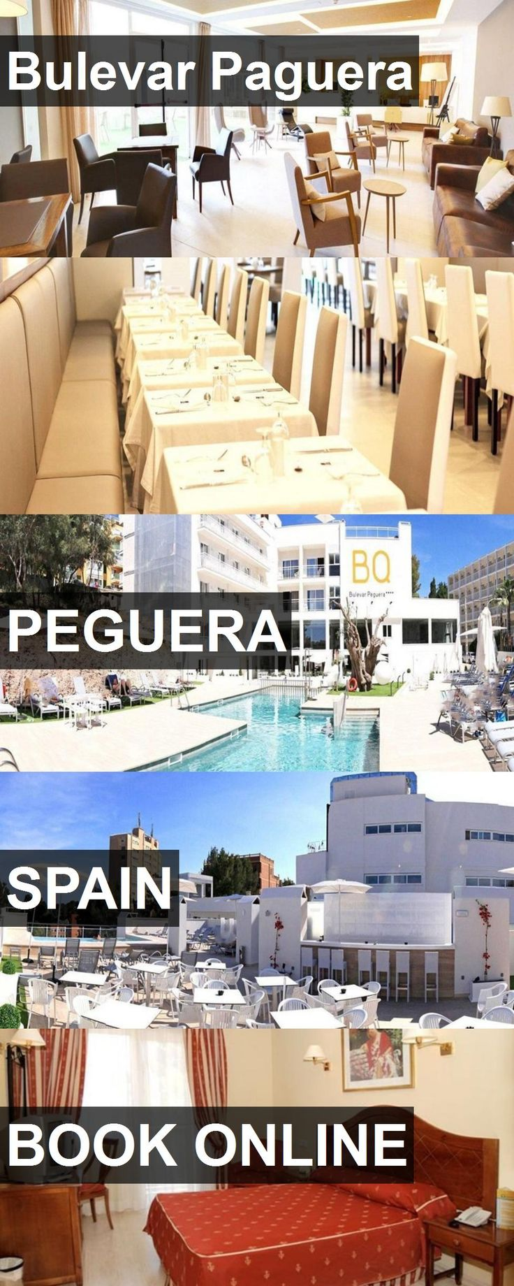 Hotel Bulevar Paguera in Peguera, Spain. For more information, photos, reviews and best prices please follow the link. #Spain #Peguera #travel #vacation #hotel