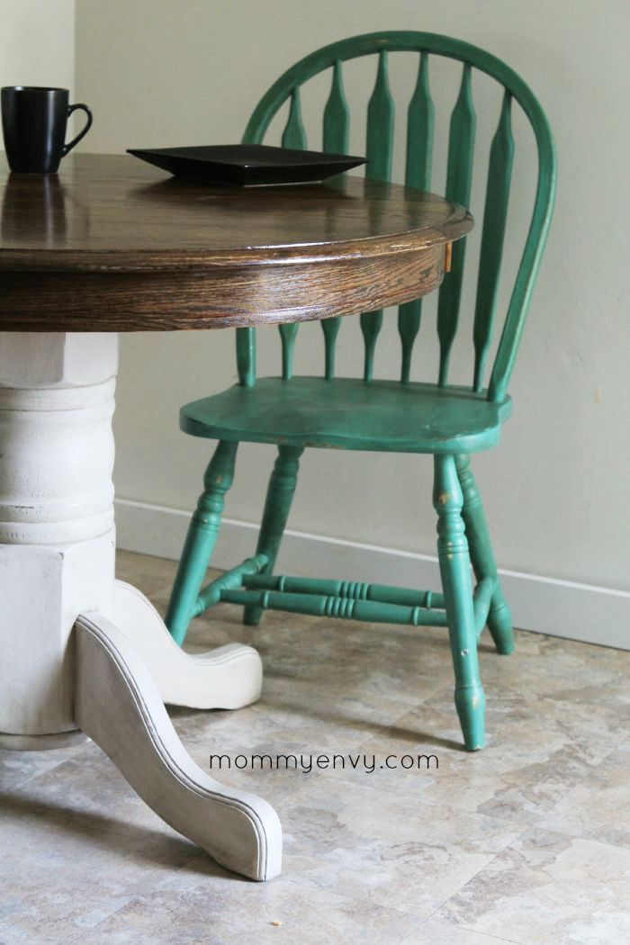 Painted Furniture - Round Kitchen Table