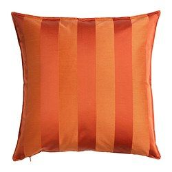 HENRIKA Cushion cover, orange - IKEA