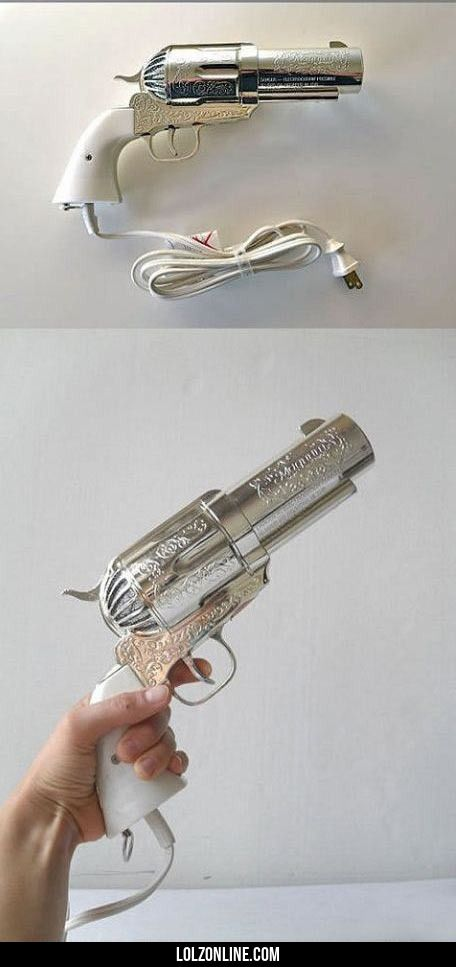 Badass hair dryer… #lol
