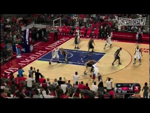 These guys are hilarious~ listen to the commentator LA Clippers vs San Antonio Spurs CPUvCPU