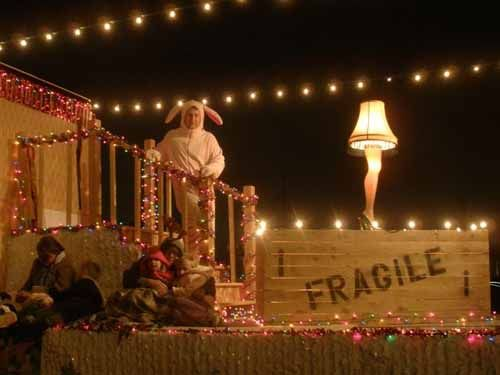 a christmas story parade float google search holiday parade floats pinterest christmas parade floats christmas and a christmas story - A Christmas Story Decorations