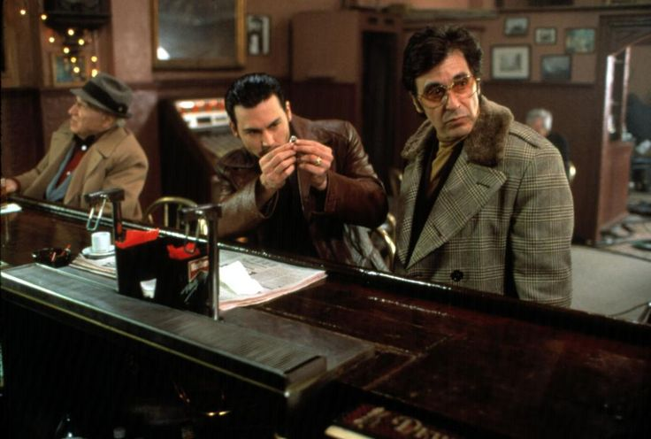 a movie analysis of donnie brasco starring al pacino and johnny depp Available on dvd/blu-ray, plus trailers and reviews for donnie brasco when  fbi agent joe pistone (johnny depp) goes under cover to infiltrate the mob, he  starts to identify with the  also stars al pacino and michael madsen   starring  al pacino, johnny depp, michael madsen, james russo, anne heche, bruno  kirby.