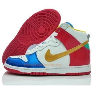 316604 171 Nike Dunk High Womens Olympic Pack White Red Yellow nike air max pink nike clearance storepromo codes