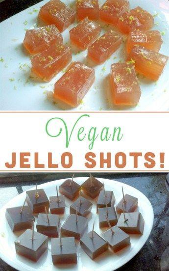 You don't need boring old Jello to make Jello shots! Here's how to use agar agar to make delicious vegan jello shots!