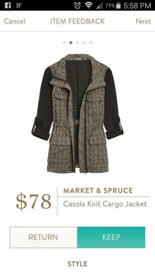 Market and Spruce Casola Knit Cargo Jacket Omg! Love!!!