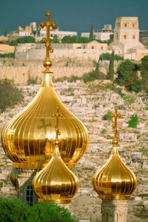 ~Mary Magdalene Church, Jerusalem, Israel~  #israel  #jerusalem  #churches