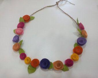 Flores espirales por AZERTbyBorges en Etsy