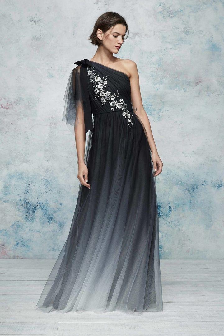 93c78f23f24 Новая коллекция прекрасных коктейльных и вечерних платьев весна-лето 2019  Marchesa Notte.