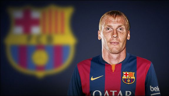 DONE DEAL: Barcelona have signed Jérémy Mathieu for £15.8m (€20m) on a four-year deal from Valencia