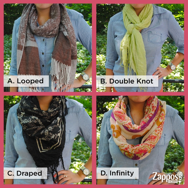 What's your favorite summer scarf style? #trending #zappos