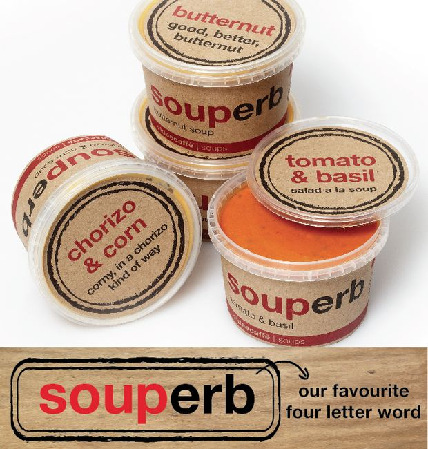 #forgotyourlunch?Why not try one of our new (soup)erb soups for lunch today.