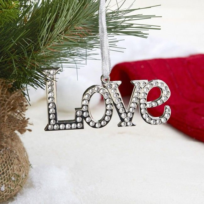 Trim your tree and make your holidays sparkle with ribbon held, crystal embellished ornaments! Available in Noel, Joy, Love, Hope, Peace and Wish.    Whether you're looking for stocking stuffers, Secret Santa presents, festive Christmas decor or even gift cards, we have a huge selection of unique holiday stuff to make your days and nights merry and bright.