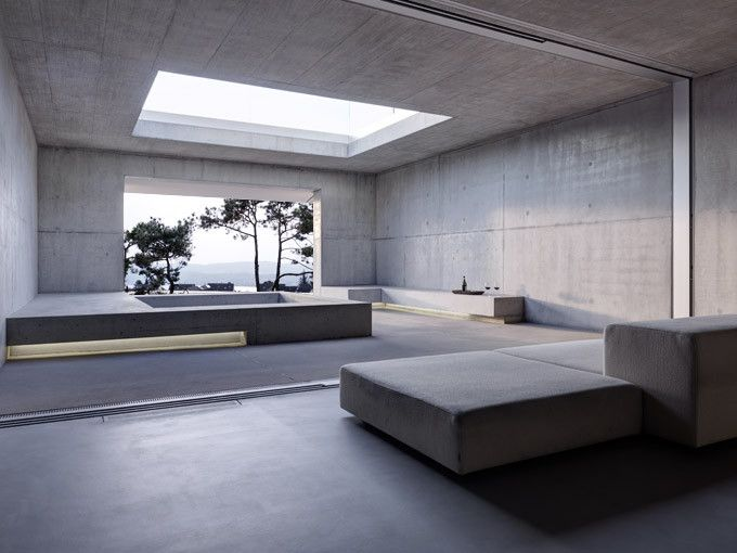2verandas Gus Wustemann Architects Minimalist Interior Concrete House Concrete Interiors