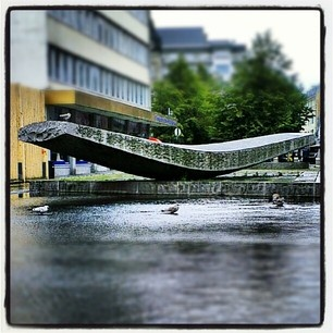User: visittrondheim   #water #art #instagram #adressa #all_shots #downtown #fountain #trondheim #visitnorway #norway #visittrondheim