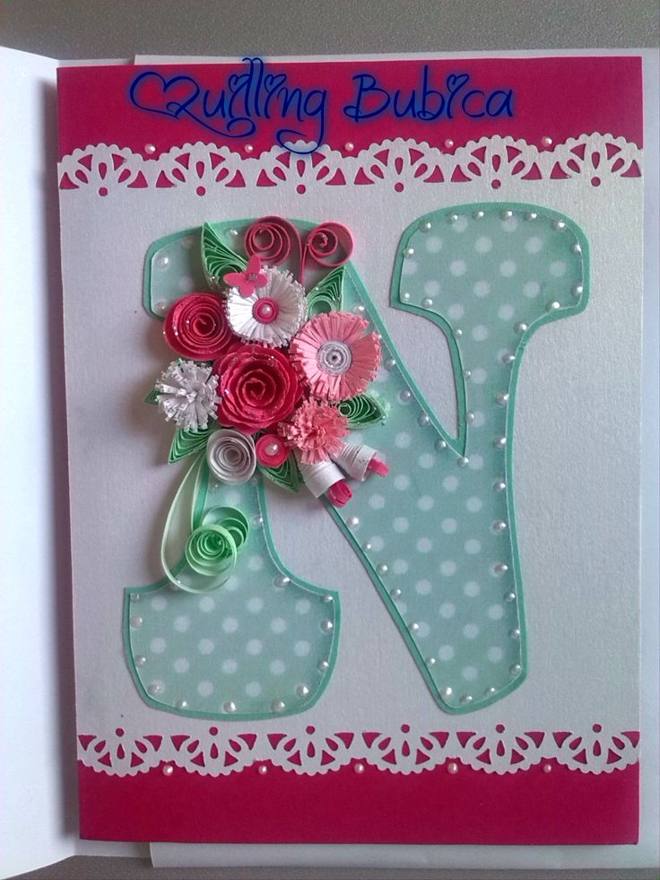 Quilling Card Making Ideas Part - 46: Quilling, Card Making, Numbers, Alphabet, Letters, Paper, Paper Quilling,  Alpha Bet, Letter