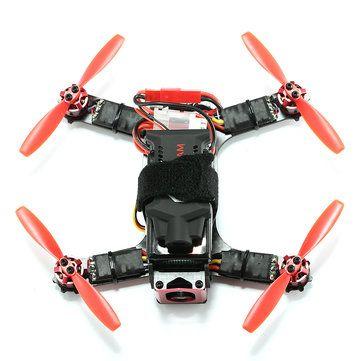 Eachine Racer 130 Naze32 FPV Racer ARF with 720P HD ActionCam 700TVL Camera(20% off coupon code:130ARF) Sale - Banggood.com