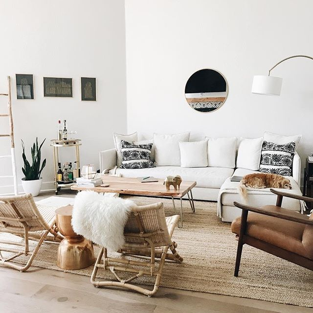 Continually Inspired By Chalkfulloflove S Cozy Minimalist Living