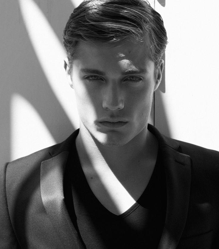 Steven Chevrin by Joseph Sinclair for Male Model Scene