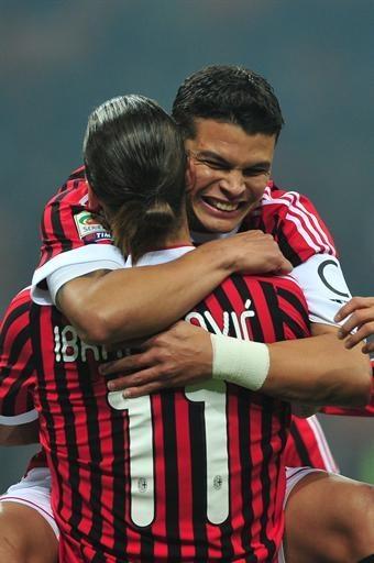 Zlatan Ibrahimovic & Tiago Silva