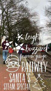 Leighton Buzzard Narrow-Gauge Railway - Santa Steam Special 2017