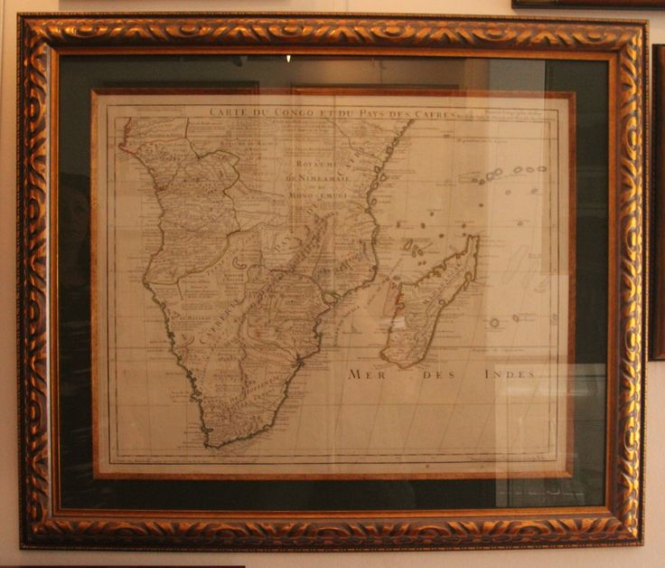 Map of Southern Africa by Guillaume de l'Isle, ca 1700