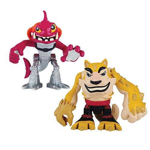 "Teenage Mutant Ninja Turtles 2.5 inch Action Figure 2 Pack - Dogpound and Fishface - TNT Media Group - Toys""R""Us"