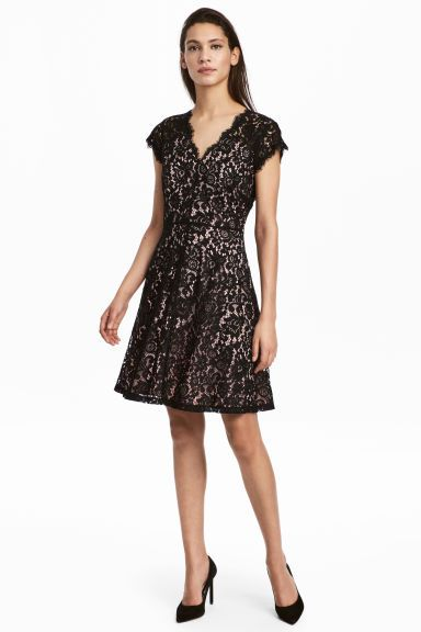Lace dress - Black - Ladies | H&M GB 1