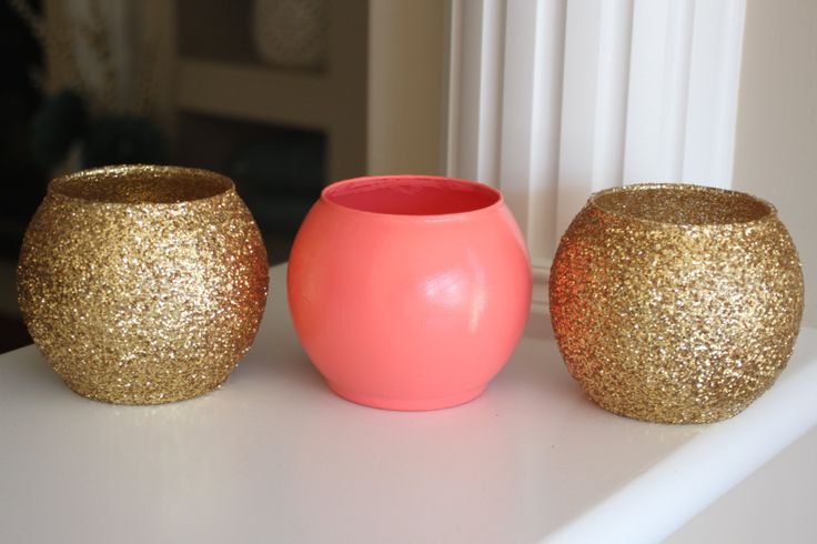 Coral and Gold Vase, Coral and Gold Centerpiece, Coral Wedding Centerpiece, Gold Wedding Centerpiece, Coral party decor, Anniversary party by stringNthingsCanada on Etsy