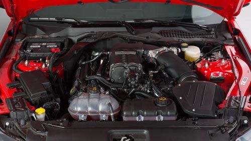 2015 Roush Stage 3 Mustang engine