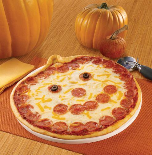 Papa Murphy's Jack o Lantern Pizza