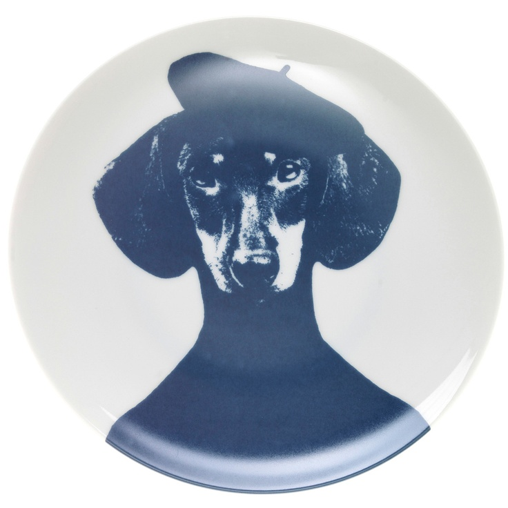 Plate Pierre the Dog.