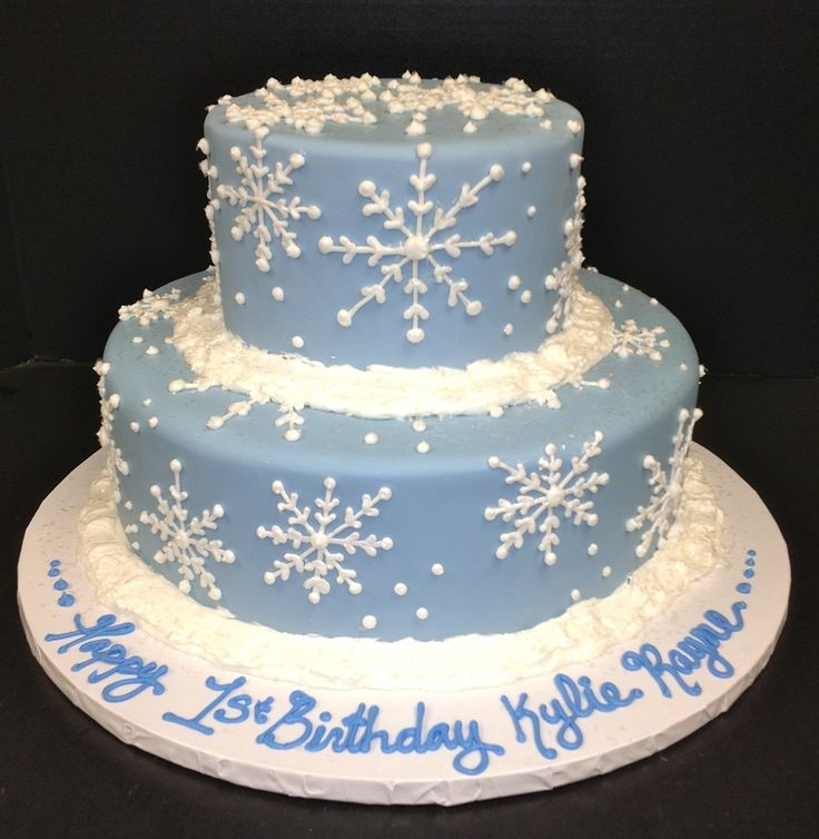 winter wonderland decorations for first birthday | 1st winter birthday — Holiday Cake Contest 2011