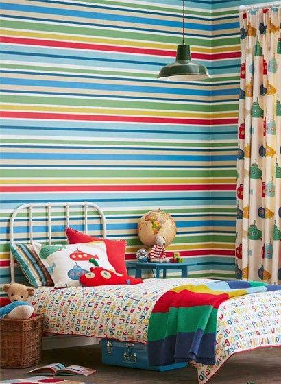34 besten tapeten mit streifen bilder auf pinterest moderne wandgestaltung streifen und. Black Bedroom Furniture Sets. Home Design Ideas
