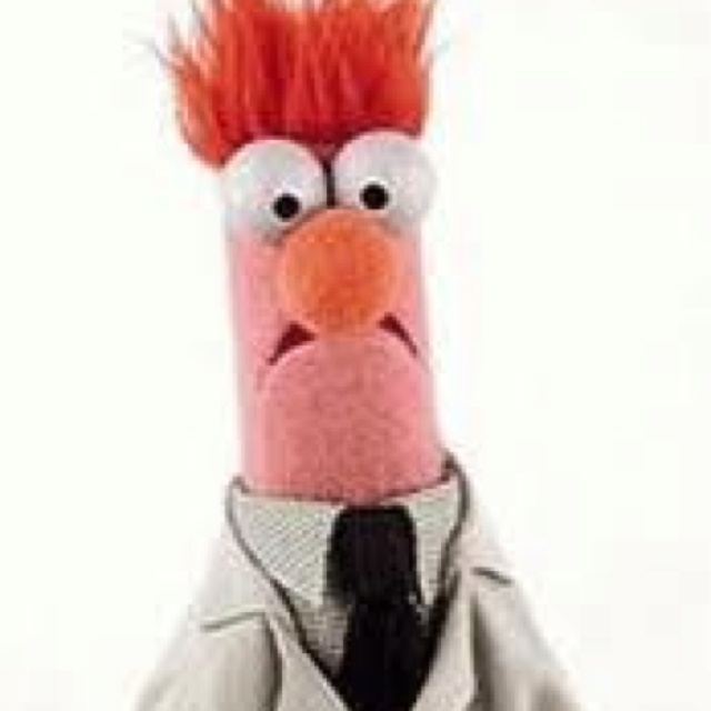 Beeker for president muppets im in love with the - Beaker muppets quotes ...