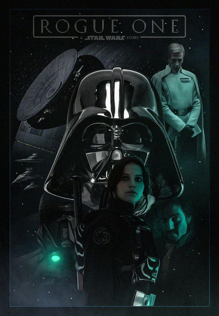 Изгой-один звездные войны постер
