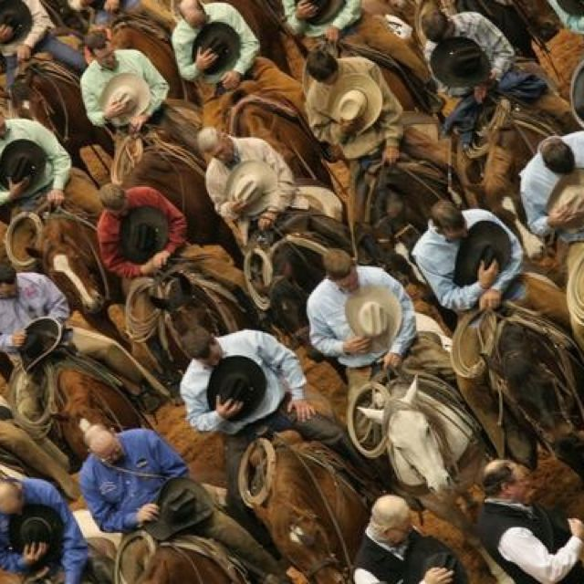 So incredibly in love with this picture. God bless cowboys. <3