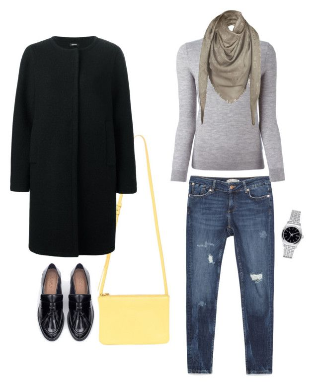 """Grey"" by alixist-1 on Polyvore featuring moda, Zara, Burberry, Nixon, Jil Sander Navy e Louis Vuitton"