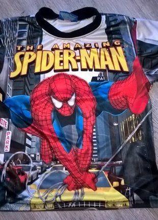 À vendre sur #vintedfrance ! http://www.vinted.fr/mode-enfants/garcons-chemises-et-t-shirts/29601598-t-shirt-spiderman-3-ans