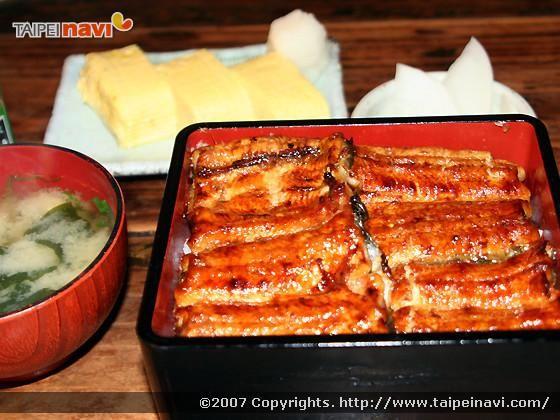 台北で食べるうな重@備前屋