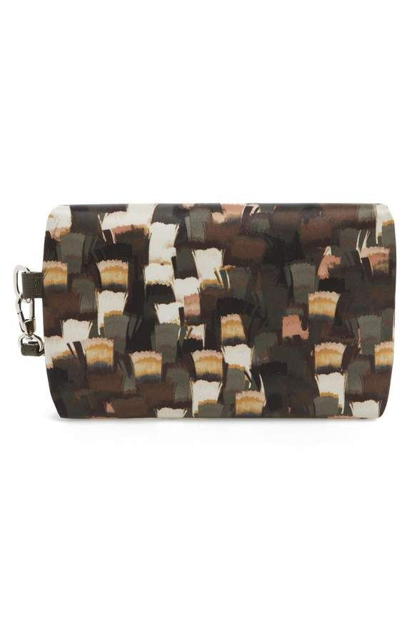 Longchamp cosmetic bag.