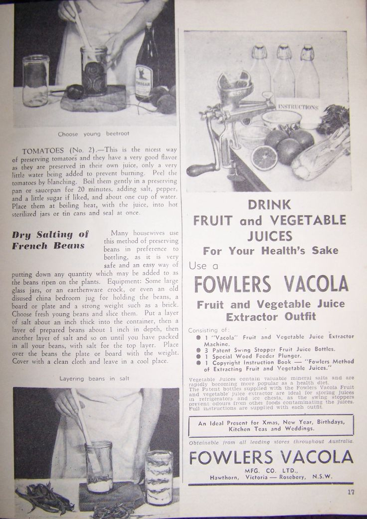 A cooking book advertisment for Vacola. Fowler, Australia.