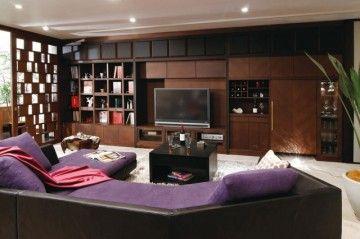 家具というよりももはや壁のような壁面収納!だからこそ美しい!