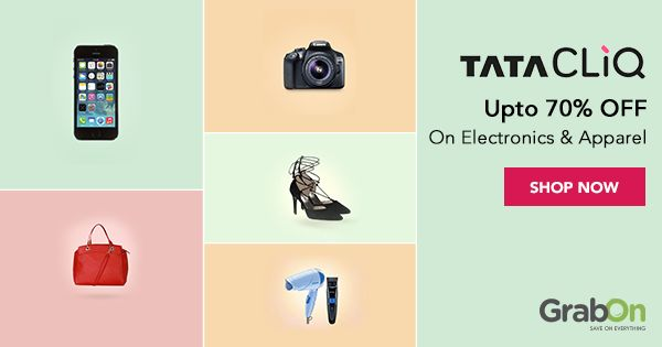 Get the best of both worlds with #TataCLiQ's discounts on #Electronics & #Apparel!  #onlineshopping #fashion #india