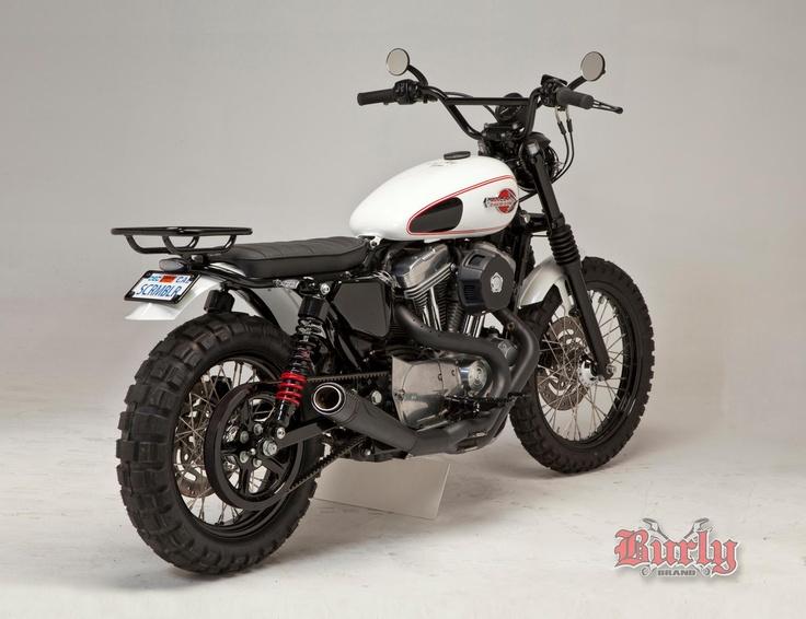 """Harley Sportster 1200 """"Scrambler"""" by Burly Brand"""