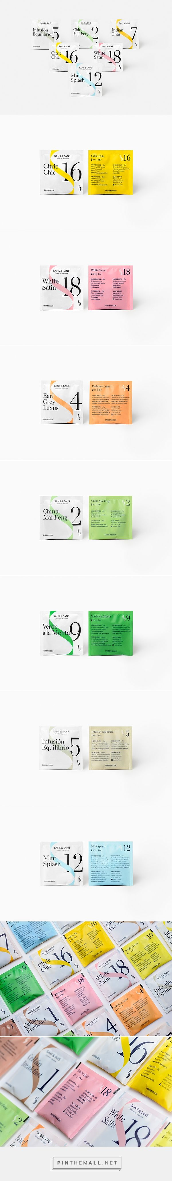 Atelier / Sans & Sans /  tea packaging
