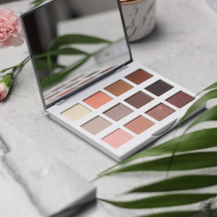 bh cosmetics marble collection warm stone eyeshadow palette