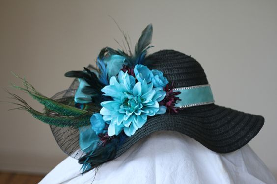 How to Make a Kentucky Derby Hat - from Jen at make things.