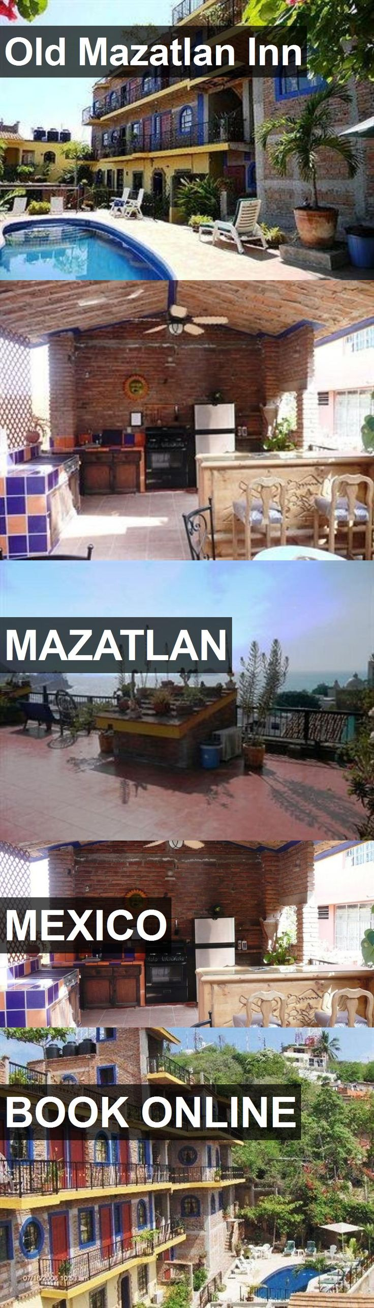 Hotel Old Mazatlan Inn in Mazatlan, Mexico. For more information, photos, reviews and best prices please follow the link. #Mexico #Mazatlan #travel #vacation #hotel
