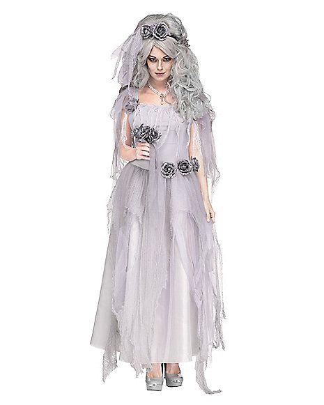 Adult Ghostly Bride Costume - Spirithalloween.com